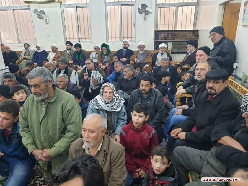 إحياء ذكرى ولادة الإمام محمد الجواد (عليه السلام) في مكتب سماحة المرجع الديني الكبير السيد محمد سعيد الحكيم مد ظله في السيدة زينب (عليها السلام) بسوريا