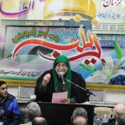 إحياء ذكرى ولادة السيدة زينب (عليها السلام) في مكتب سماحة المرجع الديني الكبير السيد محمد سعيد الحكيم (مد ظله) في حي الامين بدمشق