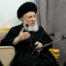 سماحة المرجع الديني الكبير السيد الحكيم (مدّ ظله) يبارك الخدمة الجبارة التي يبذلها خَدمة سيد الشهداء (عليه السلام)؛ التي تُعد مفخرة من مفاخر العراقيين، والحصن الحصين للعقيدة