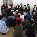 مرجع عالیقدر حاج سید محمدسعید حکیم (مدظله) از دانشجویان خواستند با بهره گیری از دلایل و براهین عقلی به ترویج اعتقادات دینی در جامعه پیرامون خود بپردازند