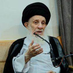 سماحة المرجع الديني الكبير السيد الحكيم (مدّ ظله) يبين عظمة يوم الغدير الذي جعله تعالى اعظم الاعياد عند المسلمين بإكمال الدين وتمام النعمة