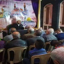 مكتب سماحة المرجع الديني الكبير السيد الحكيم (مد ظله) في حي الأمين في دمشق يحيي ذكرى شهادة الإمام موسى بن جعفر (عليه السلام)