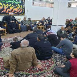 إحياء ذكرى شهادة الصديقة الكبرى (عليها السلام) في مكتب سماحة المرجع الديني الكبير السيد محمد سعيد الحكيم (مدّ ظله) في السيدة زينب (عليها السلام) في سوريا