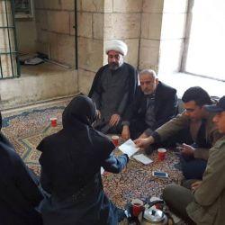 قسم رعاية الأيتام في مكتب سماحة المرجع الكبير السيد الحكيم (مدّ ظله) في سوريا، يوزع الهدايا الشهرية على الأيتام والعوائل المكفولة والمهجرة في عدة مدن سورية