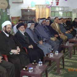 دیدار با شیوخ و چهره های عشایر و برگزیدگان شهرک العامل در شرق بغداد