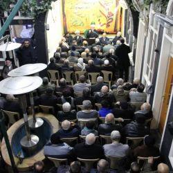 مكتب سماحة المرجع الديني الكبير السيد الحكيم(مدّ ظله) في السيدة زينب عليها السلام في دمشق يقيم مجلس عزاء بذكرى شهادة الصديقة الطاهرة فاطمة الزهراء (عليها السلام)