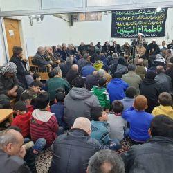 إحياء ذكرى وفاة السيدة الجليلة أم البنين )عليها السلام( في مكتب سماحة المرجع الديني الكبير السيد محمد سعيد الحكيم مد ظله في السيدة زينب (عليها السلام) بسوريا