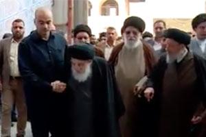 مقام صاحب الامر والزمان (عجل الله فرجه الشريف) في مسجد السهلة المعظم